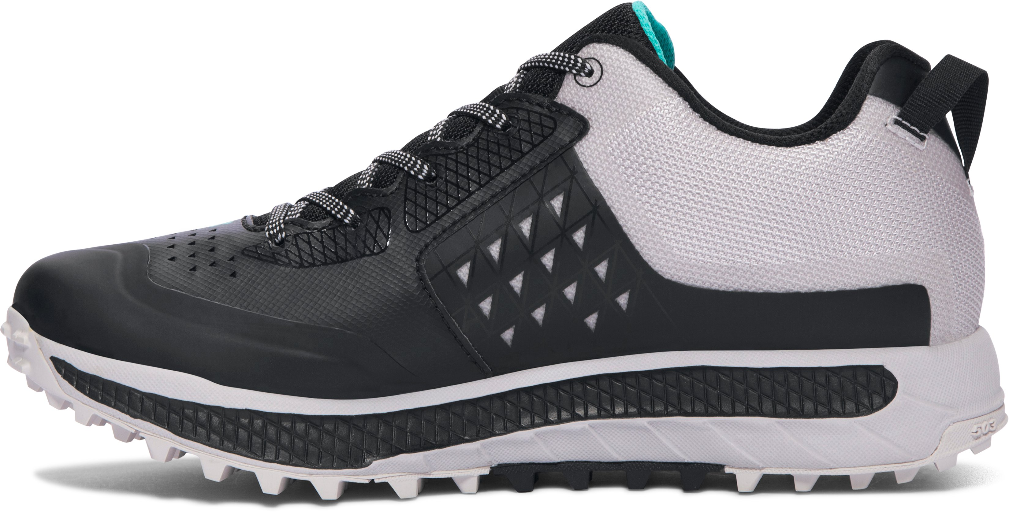 Women's UA Horizon STR Trail Running Shoes, Black , undefined