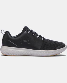 Boys' Grade School UA Charged 24/7 Low Leather Shoes