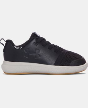 Boys' Infant UA Charged 24/7 Low Leather Shoes LIMITED TIME: FREE U.S. SHIPPING  $44.99