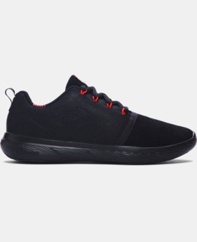 Boys' Grade School UA Charged 24/7 Low Suede Shoes