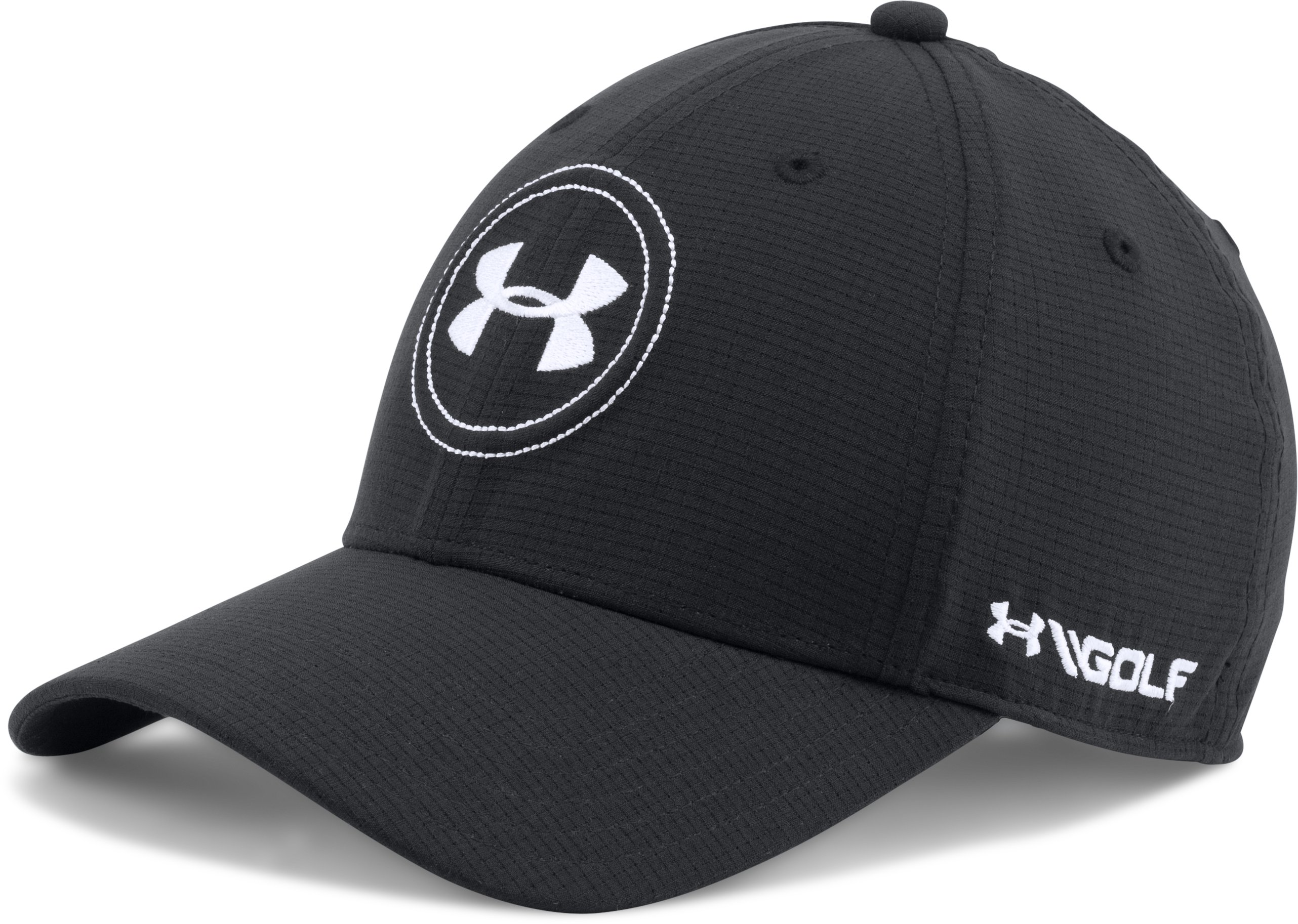 Men's Jordan Spieth UA Tour Cap, Black , zoomed image