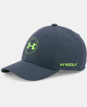 Best Seller Boys' UA Golf Official Tour Cap LIMITED TIME: FREE U.S. SHIPPING 4 Colors $24.99