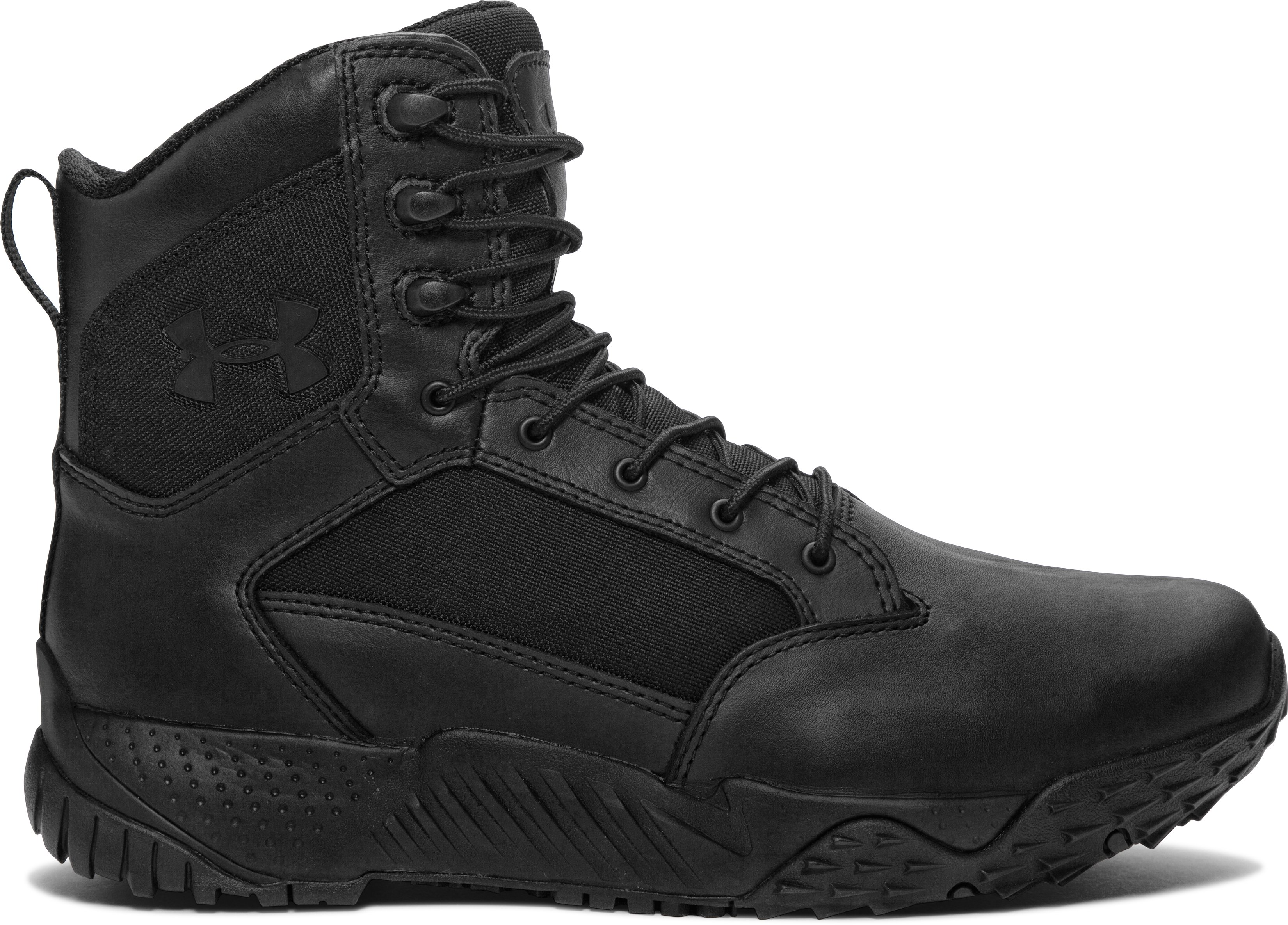 Men's UA Stellar Tactical Boots — Wide (2E), Black