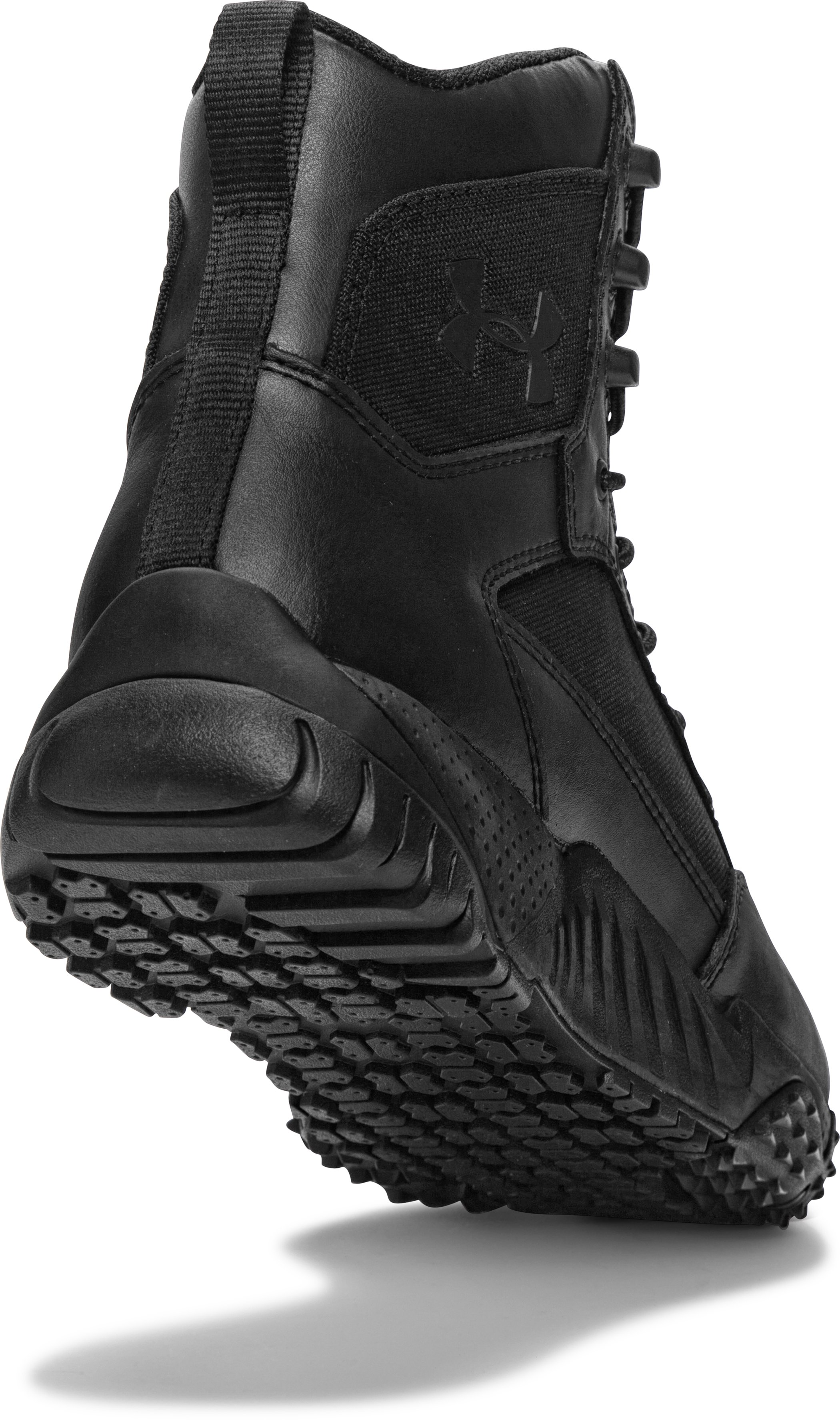 Men's UA Stellar Tactical Boots — Wide (2E), Black ,