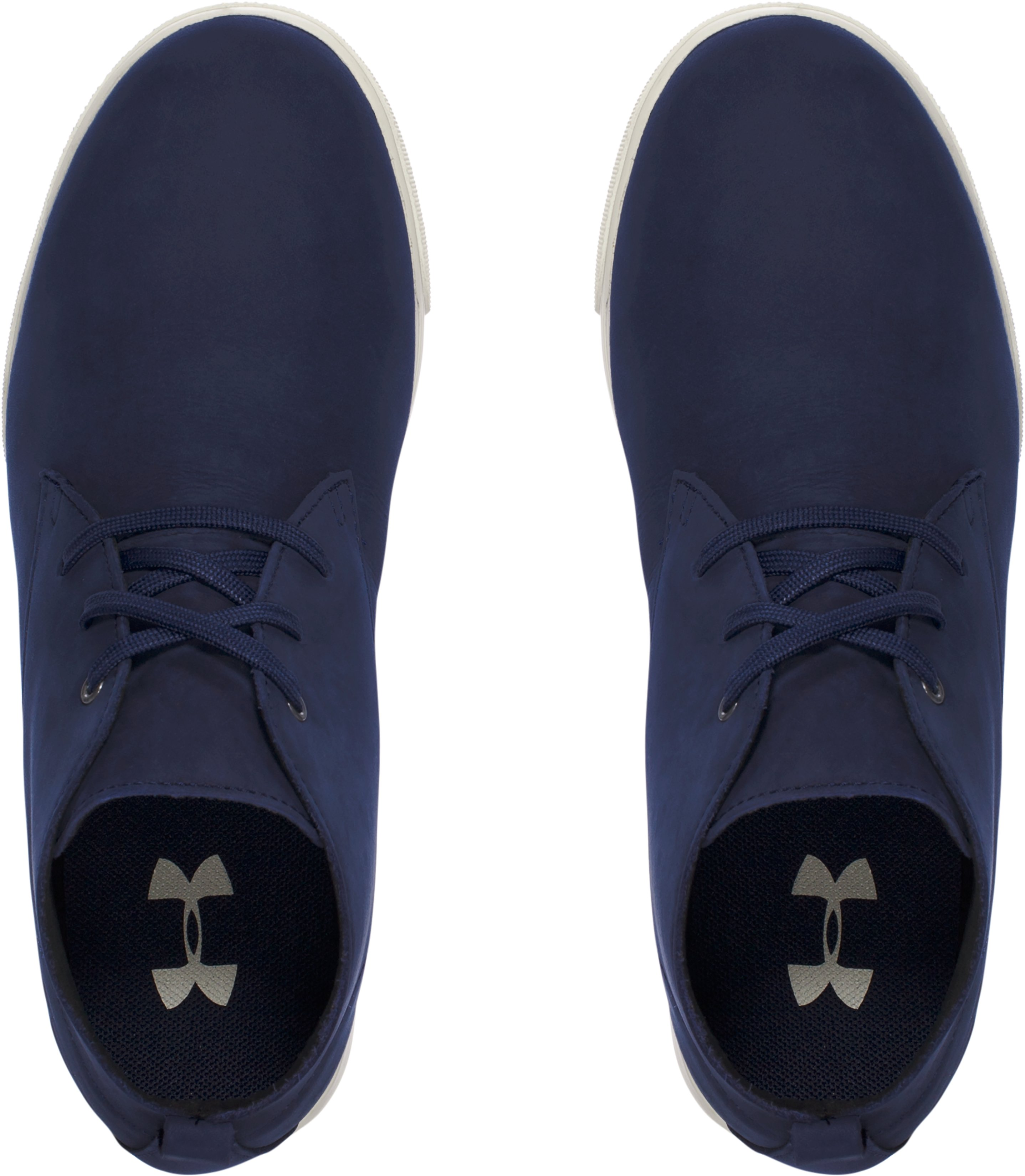 Kids' Grade School UA Coast Nubuck Shoes, Midnight Navy, undefined
