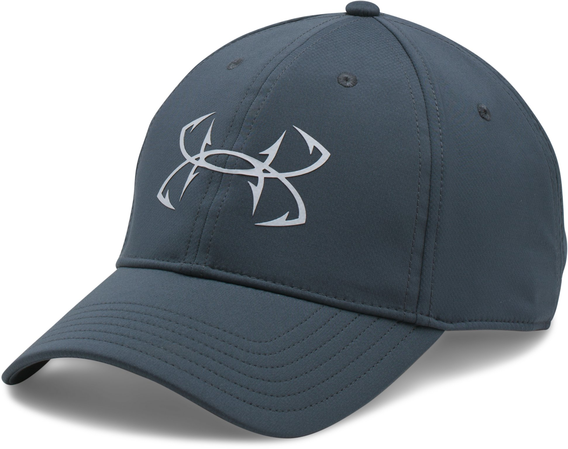Men's UA Fish Hook Cap, STEALTH GRAY