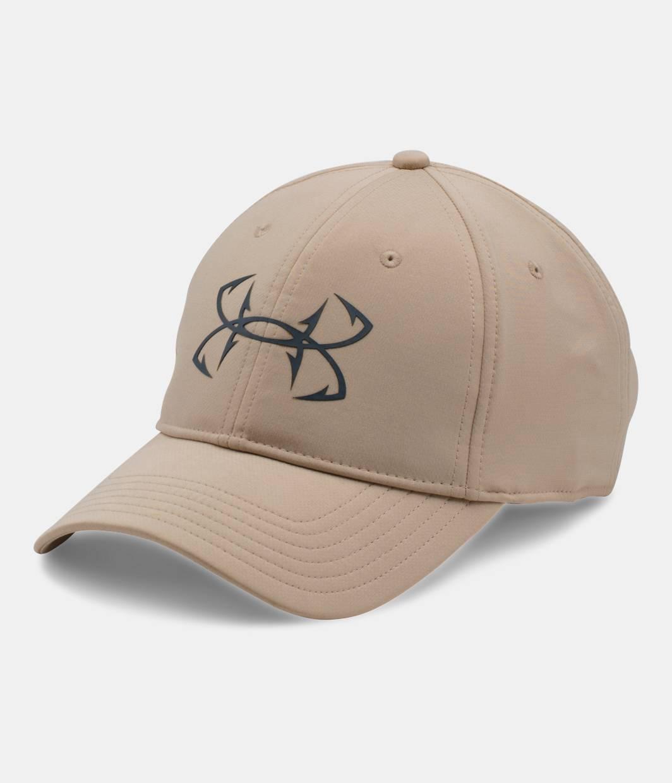 Men 39 s ua fish hook cap under armour ca for Under armor fishing hat