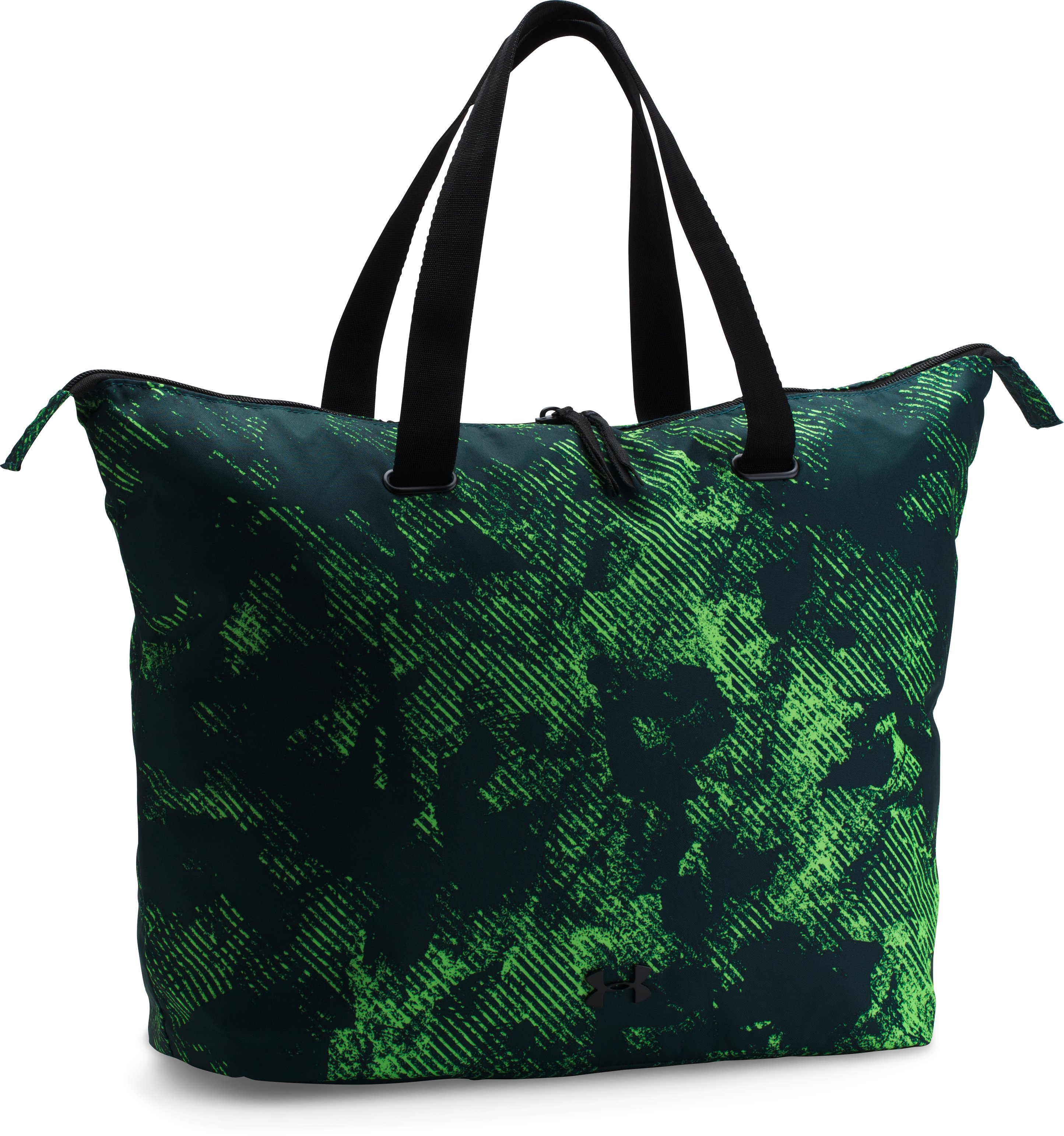 Women's UA On The Run Tote, ARDEN GREEN,