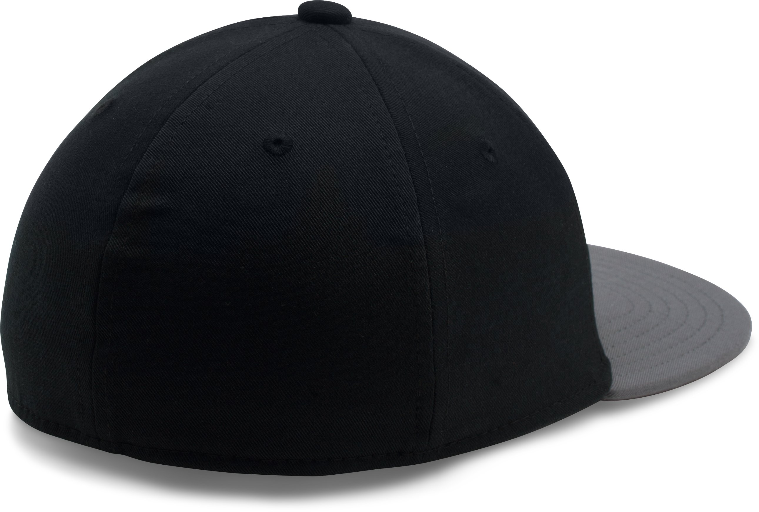 Boys' UA Baseball Embossed Cap, Black ,