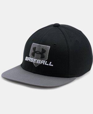 New Arrival  Boys' UA Baseball Embossed Cap  1 Color $29.99