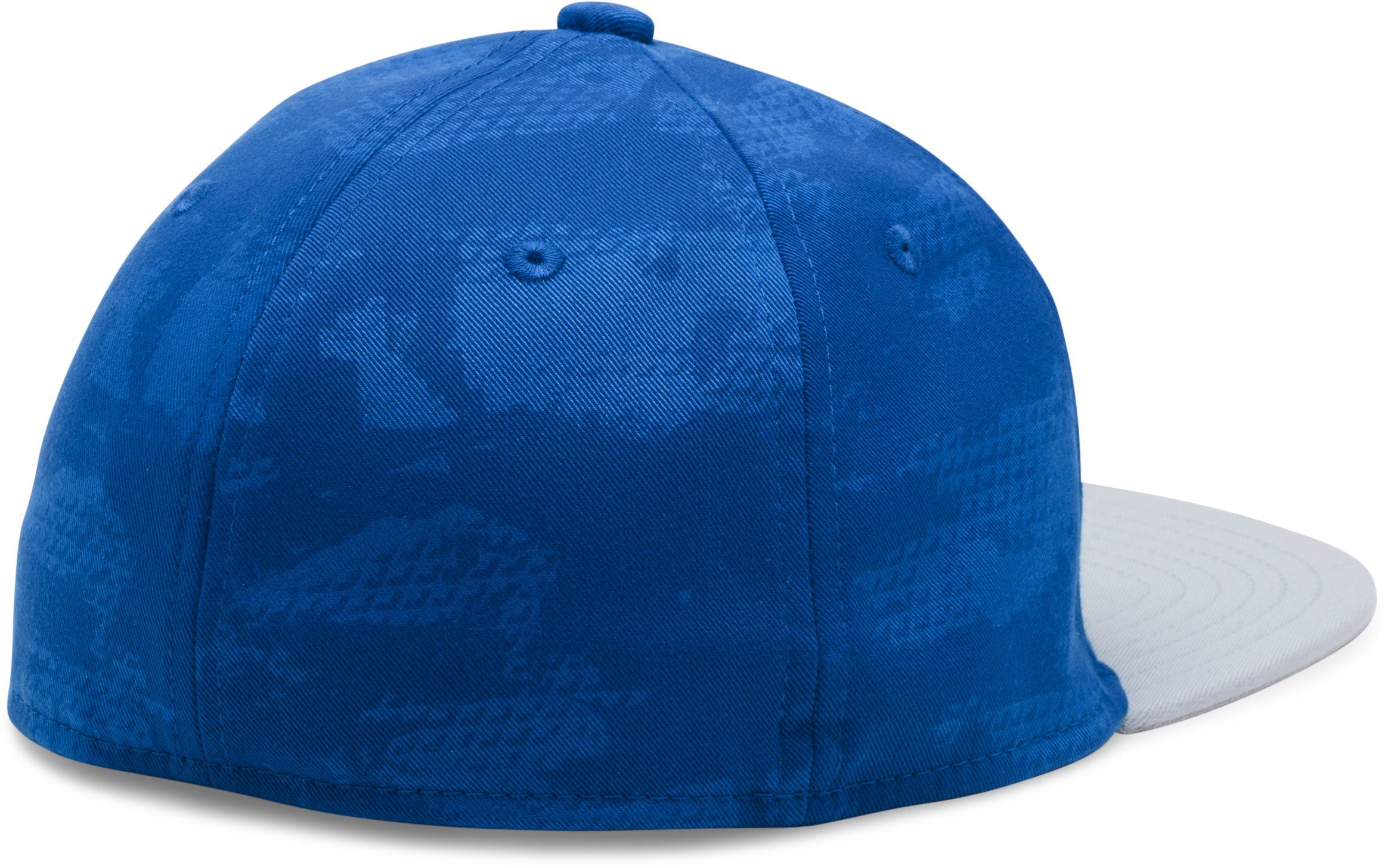 Boys' UA Baseball Embossed Cap, Royal, undefined
