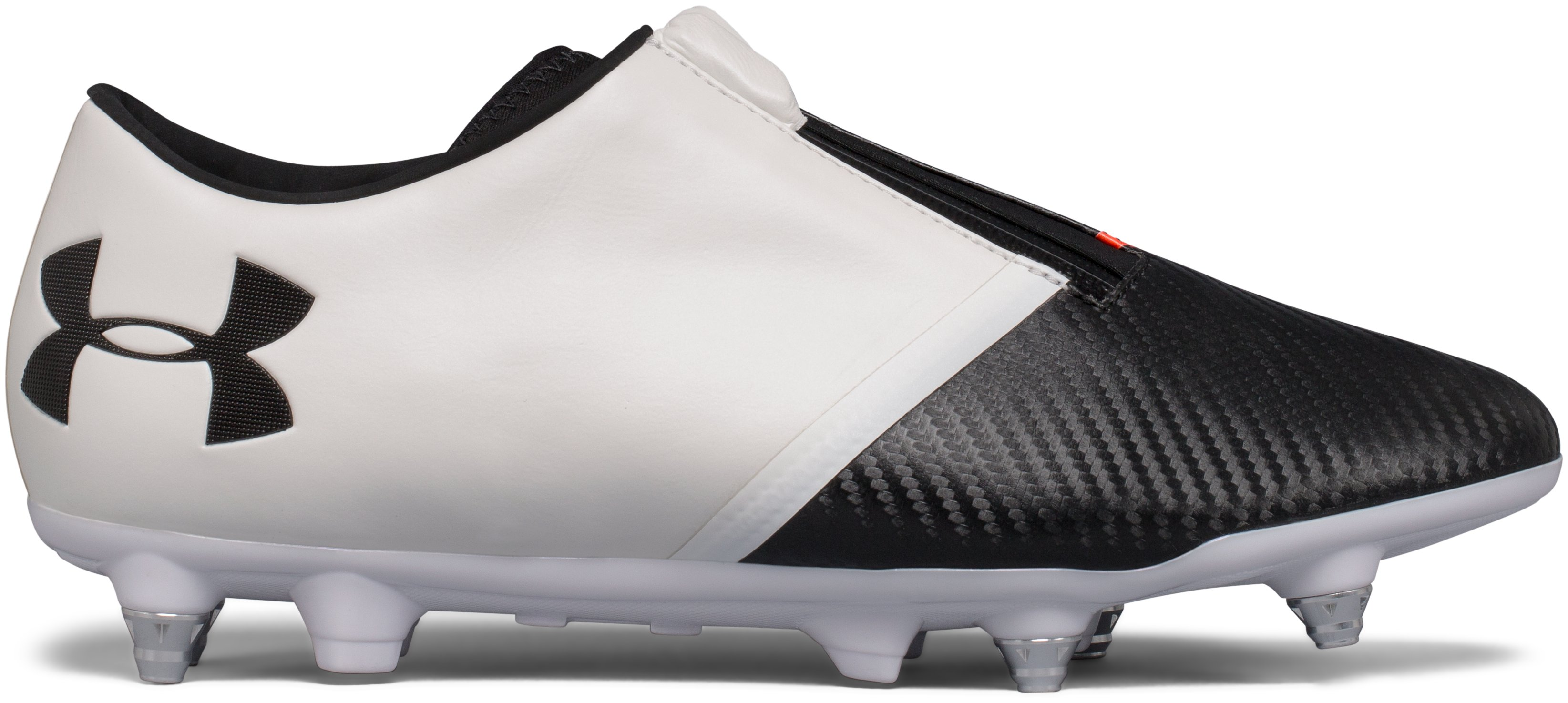 Men's UA Spotlight Hybrid Soccer Cleats, White,