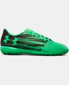 Kids' UA Spotlight Turf Jr. Soccer Shoes   $33.74