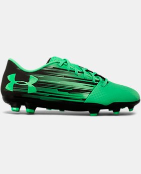 Kids' UA Spotlight DL Firm Ground Jr. Soccer Cleats  1  Color Available $33.74