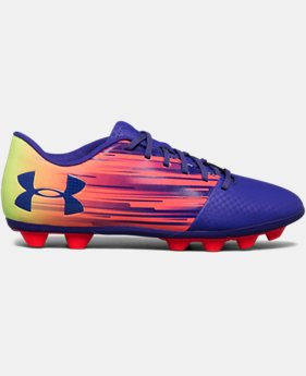 Kids' UA Spotlight DL Firm Ground Rubber Jr. Soccer Cleats  1 Color $26.24