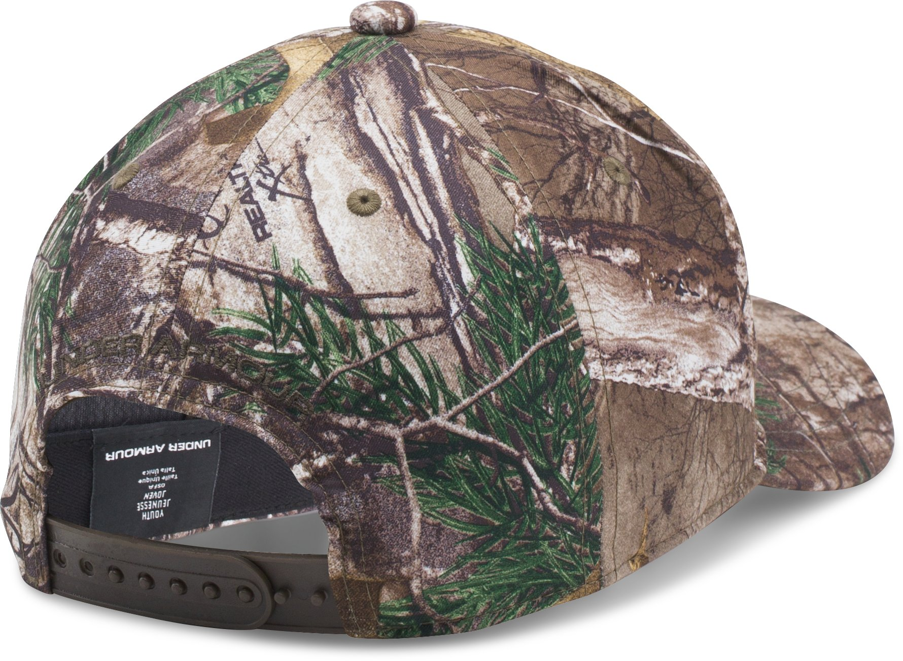 Boys' UA Hunt Cap, REALTREE AP-XTRA, undefined
