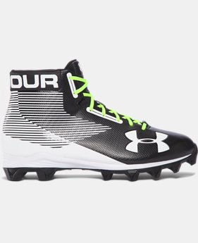 Men's UA Hammer™ Mid Rubber Molded Football Cleats FREE U.S. SHIPPING 2  Colors Available $49.99