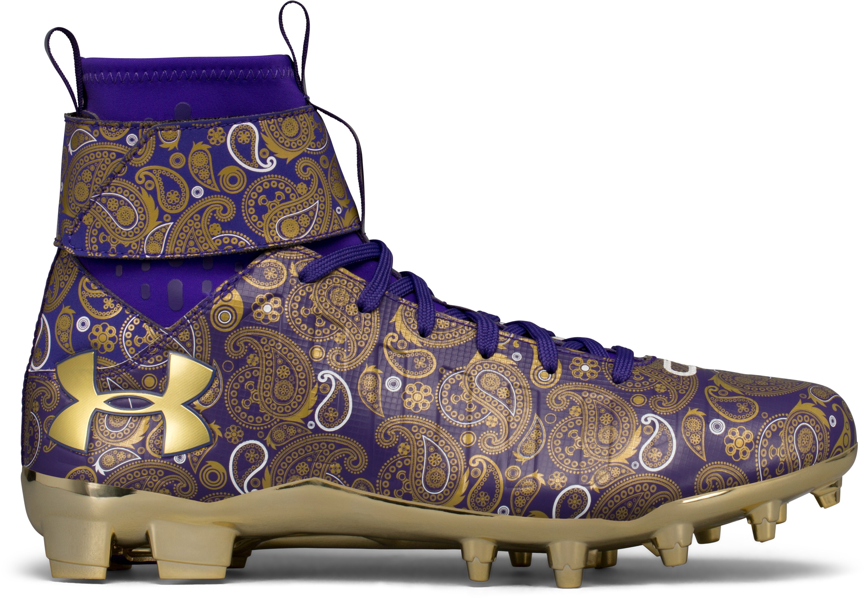 Men's UA C1N MC Football Cleats — Limited Edition, Purple