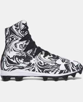 Men's UA Highlight Lux Rubber Molded Football Cleats  1 Color $44.99