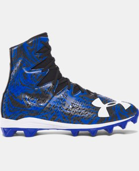 Men's UA Highlight Lux Rubber Molded Football Cleats   $59.99