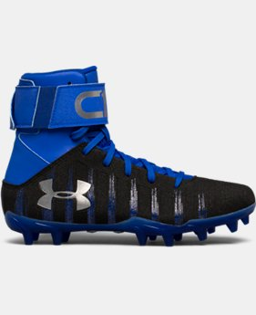 Boys' UA C1N Jr. Molded Football Cleats   $52.49