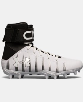 Boys' UA C1N Jr. Molded Football Cleats  4 Colors $69.99