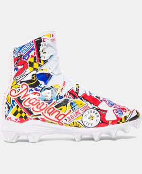 Boys' UA Highlight RM Jr. — Limited Edition Football Cleats   $44.99