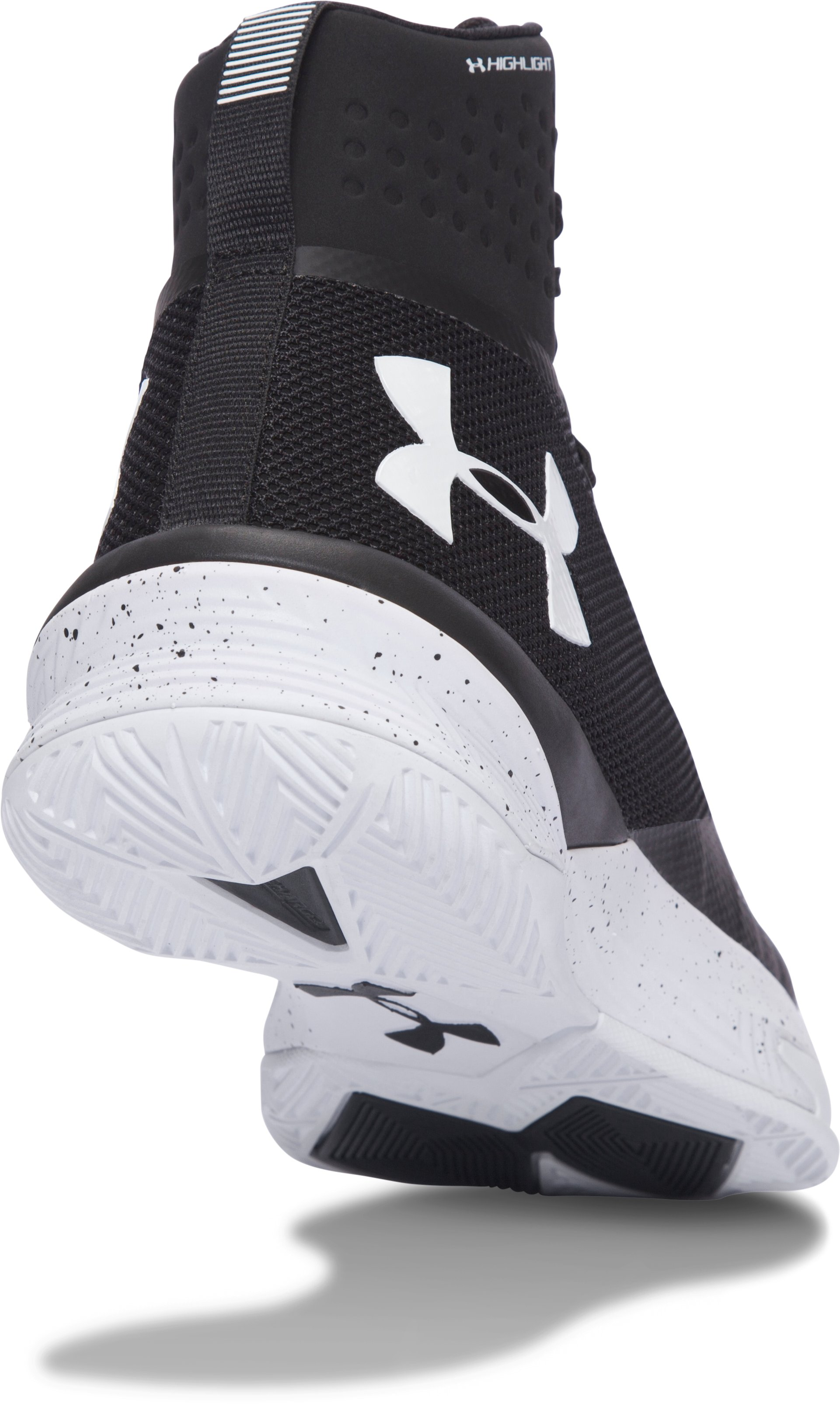 Women's UA Highlight Ace Volleyball Shoes, Black ,