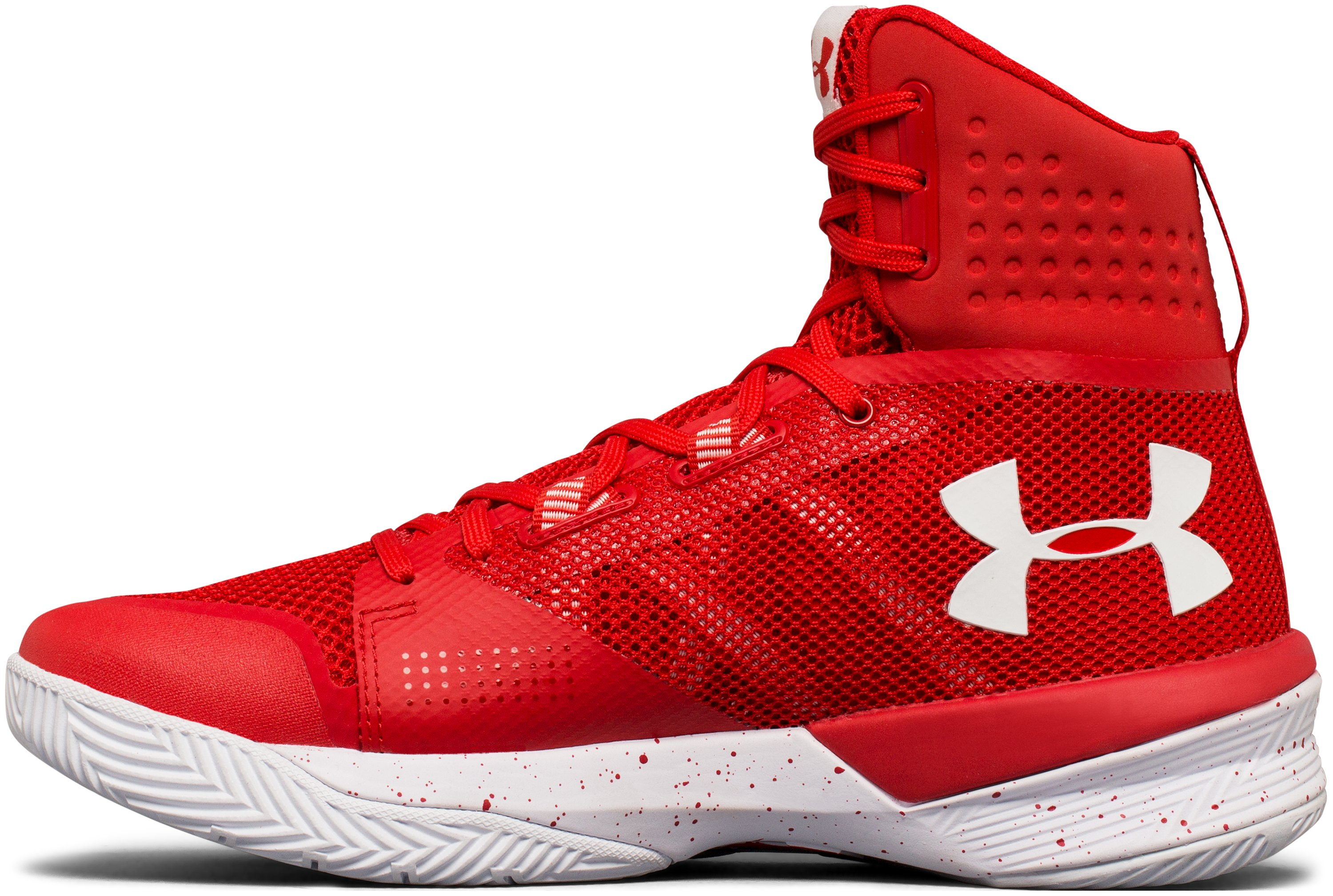 Women's UA Highlight Ace Volleyball Shoes, Red,