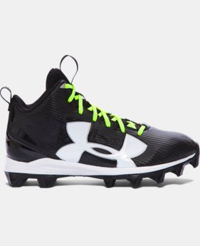Boys' UA Crusher RM Jr. Football Cleats – Wide   1 Color $34.99