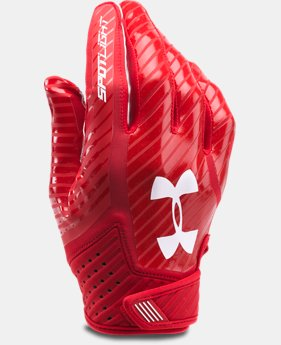 Men's UA Spotlight Football Gloves   $44.99
