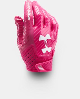 Men's UA Spotlight Football Gloves  1 Color $44.99