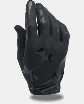 Men's UA Sizzle Football Gloves  1  Color Available $29.99