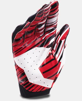 Men's UA Sizzle Football Gloves  1 Color $29.99