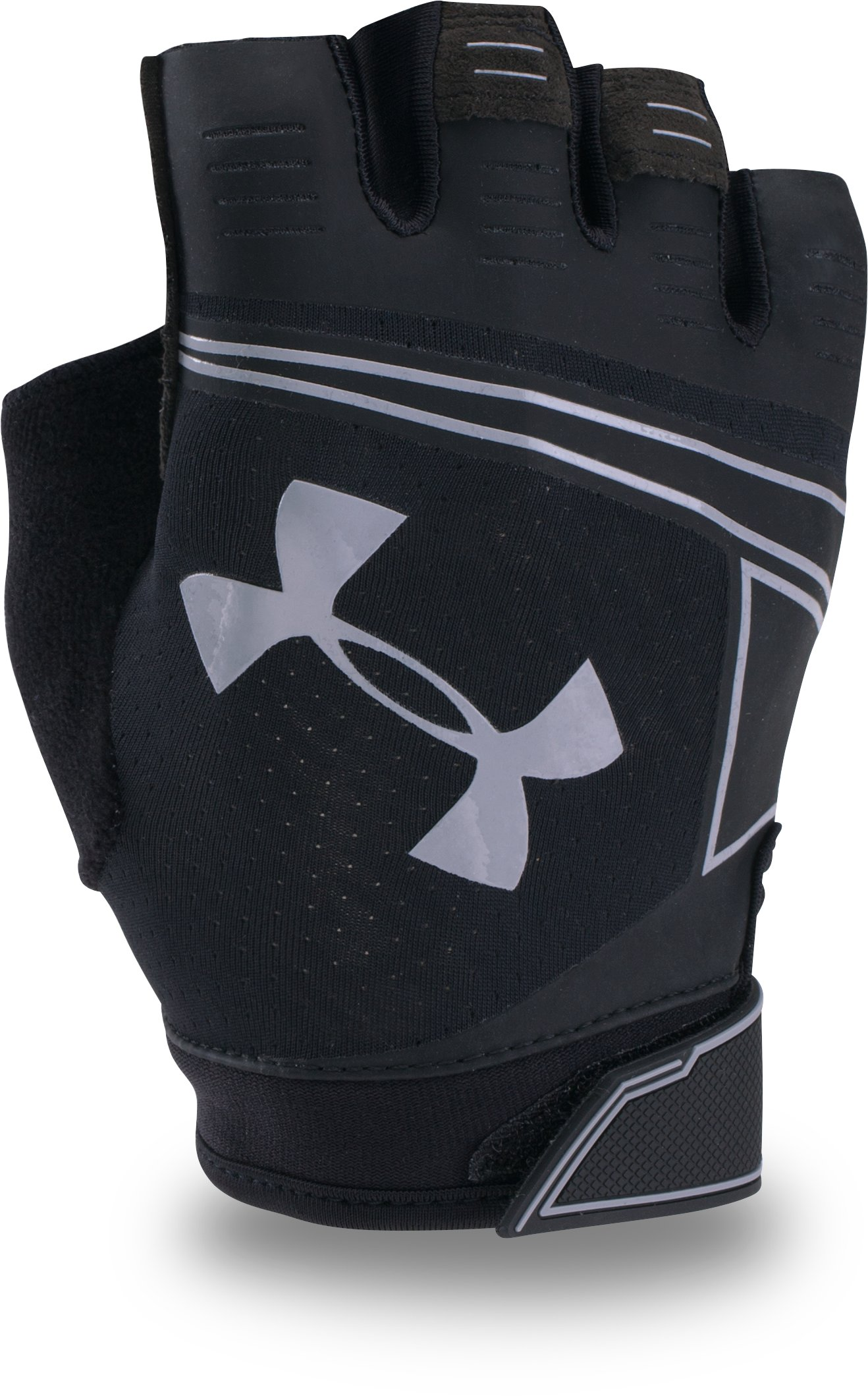 Men's UA CoolSwitch Flux Training Gloves, Black ,