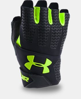 Men's UA ClutchFit® Resistor Training Gloves  3  Colors $34.99
