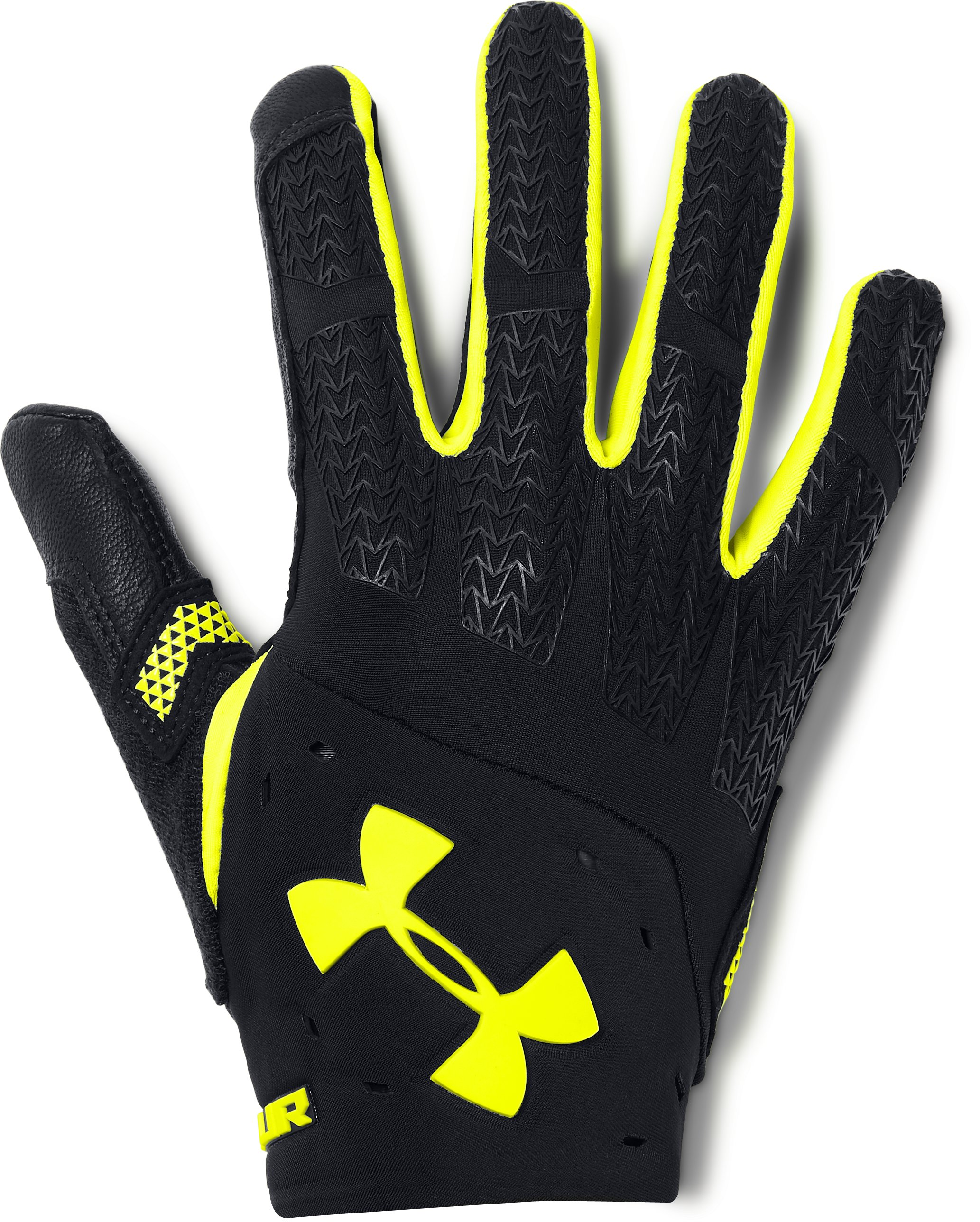 Men's UA ClutchFit® Renegade Training Gloves, Black , undefined