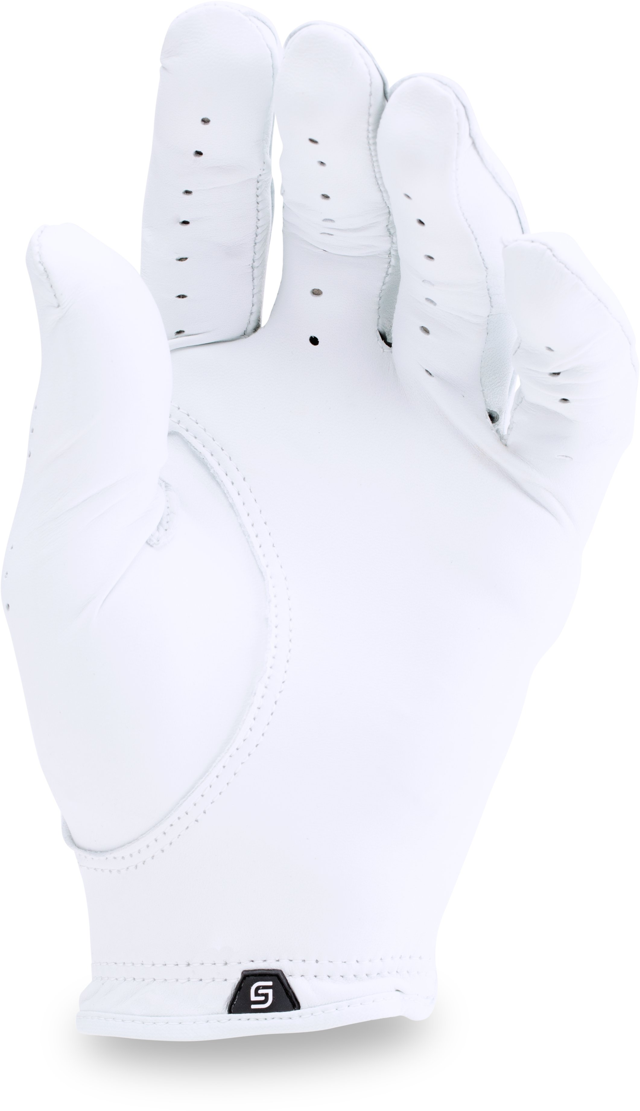Men's UA Spieth Tour Glove, White,