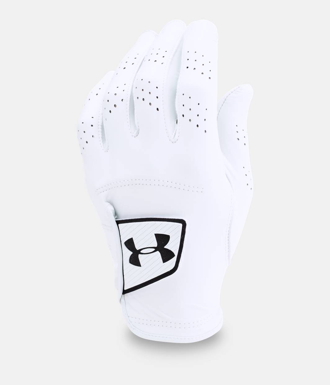 Under armour leather work gloves - Men S Ua Spieth Tour Glove White Zoomed Image