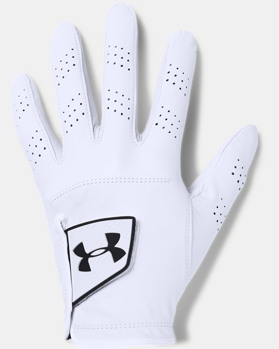 Men's UA Spieth Tour Glove, White, pdpMainDesktop image number 0