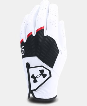 Boys' UA CoolSwitch Golf Glove — Spieth Jr. Edition  3  Colors Available $16.99