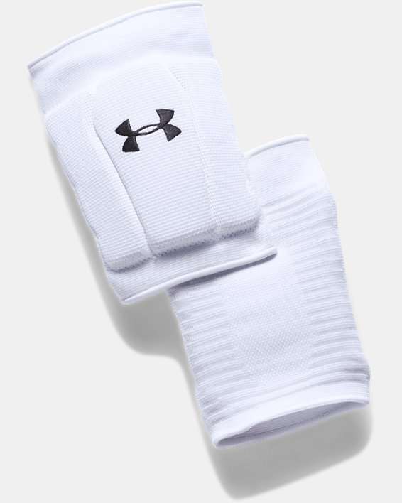 UA Armour 2.0 Knee Pads, White, pdpMainDesktop image number 2