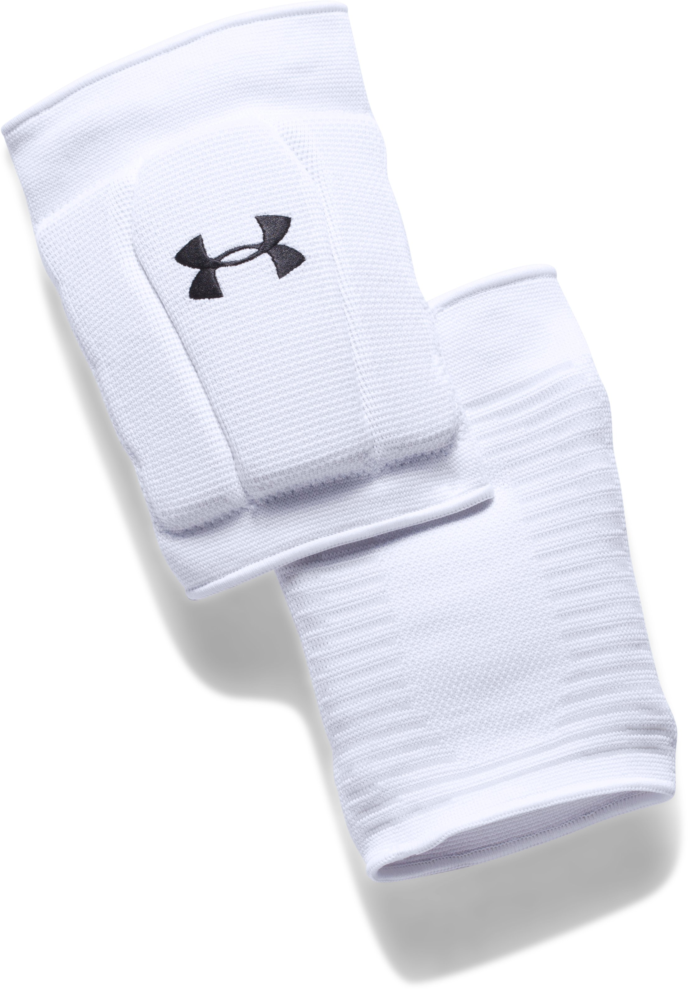UA Armour 2.0 Knee Pads, White, zoomed image