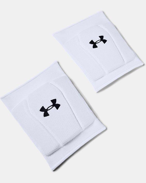 UA Armour 2.0 Knee Pads, White, pdpMainDesktop image number 0