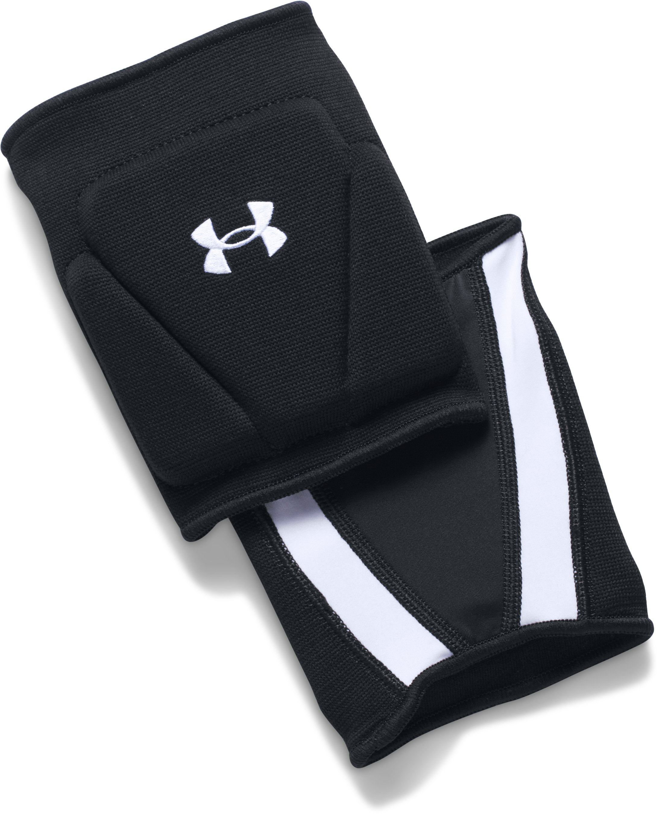 UA Strive 2.0 Knee Pads, Black ,