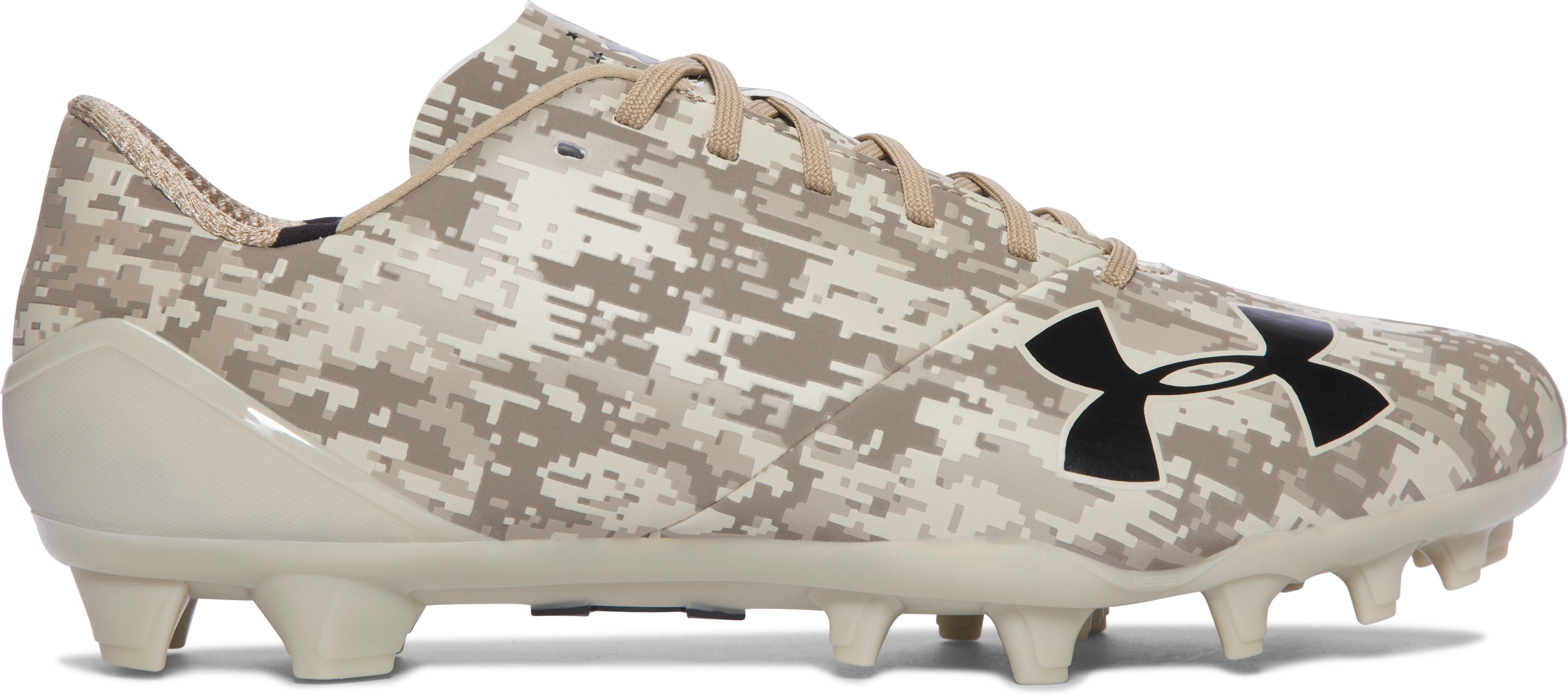 Men's UA Spotlight — Limited Edition Football Cleats, Sandstorm, undefined
