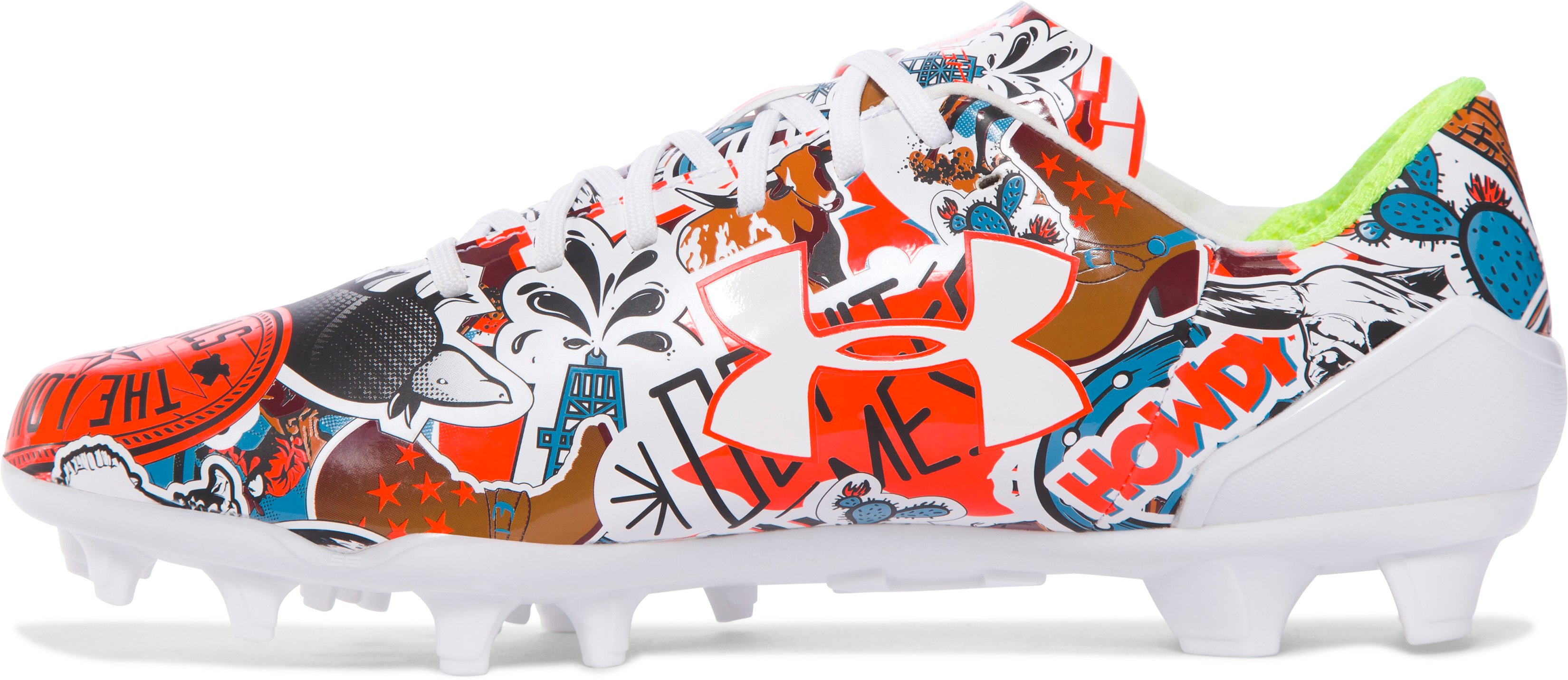 Men's UA Spotlight — Limited Edition Football Cleats, TEXAS,