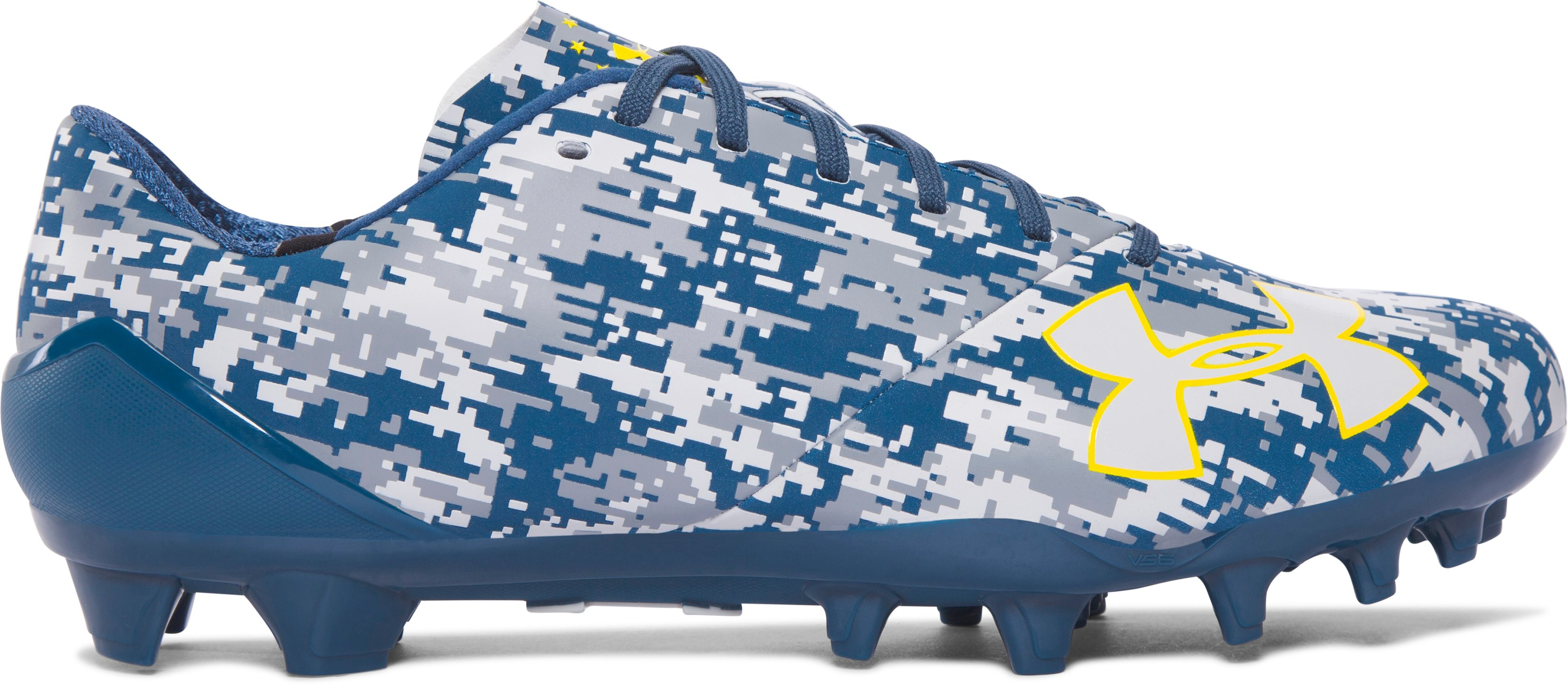 Men's UA Spotlight — Limited Edition Football Cleats, PETROL BLUE