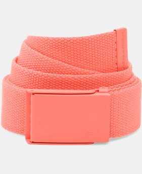 New to Outlet Women's UA Solid Webbing Belt  1 Color $14.99