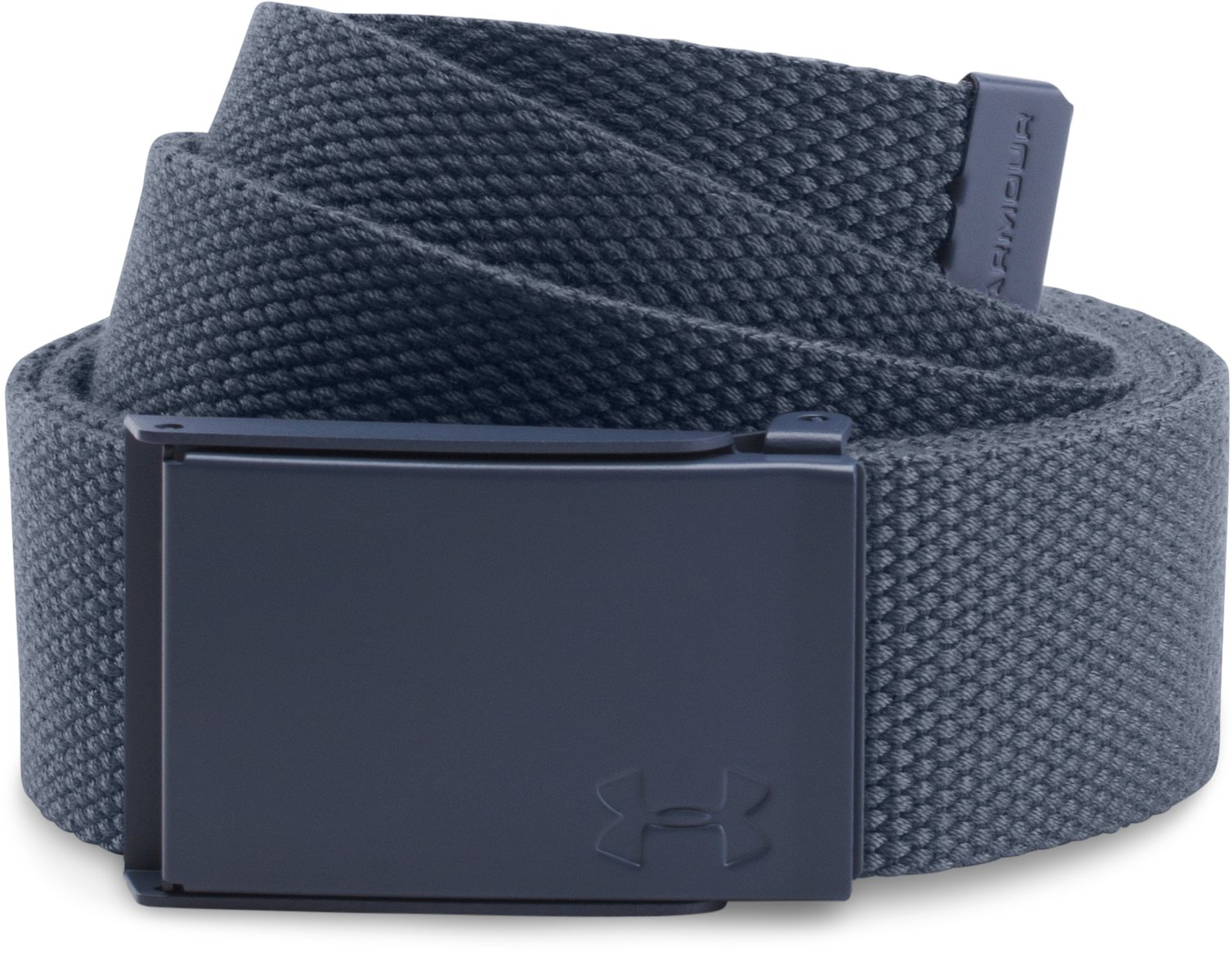 Women's UA Solid Webbing Belt, APOLLO GRAY, undefined